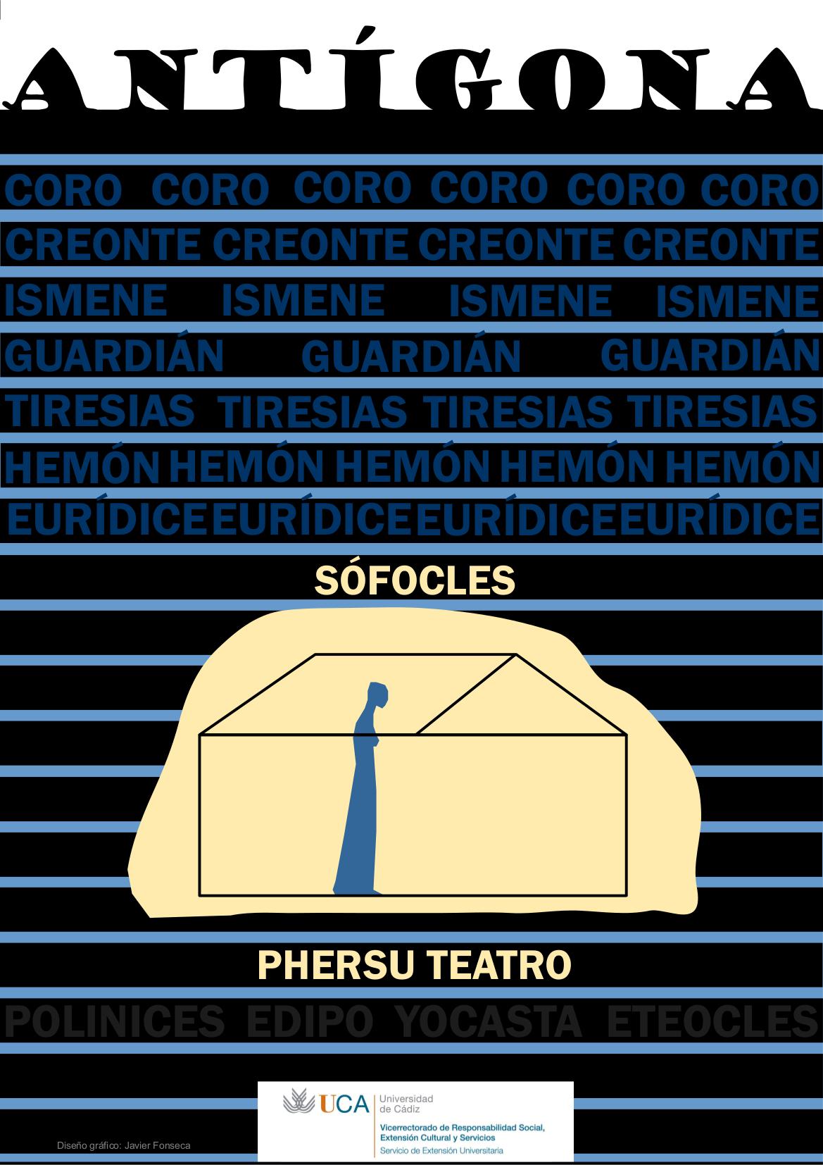 Imagen teatro 'Antígona'