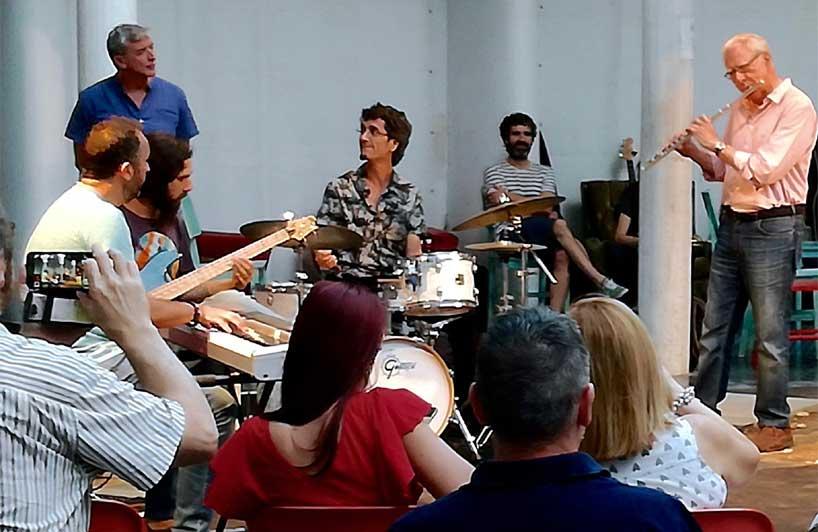Encuentro con los músicos de Jazz